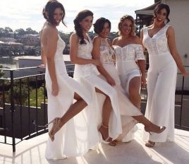 40 Jumpsuits Look for Bridemaids Ideas 24