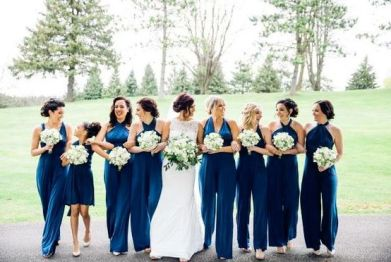 40 Jumpsuits Look for Bridemaids Ideas 25