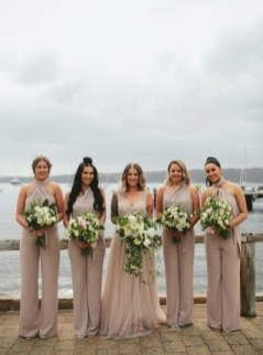 40 Jumpsuits Look for Bridemaids Ideas 36