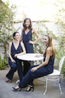 40 Jumpsuits Look for Bridemaids Ideas 38
