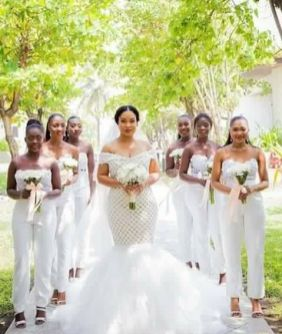 40 Jumpsuits Look for Bridemaids Ideas 39