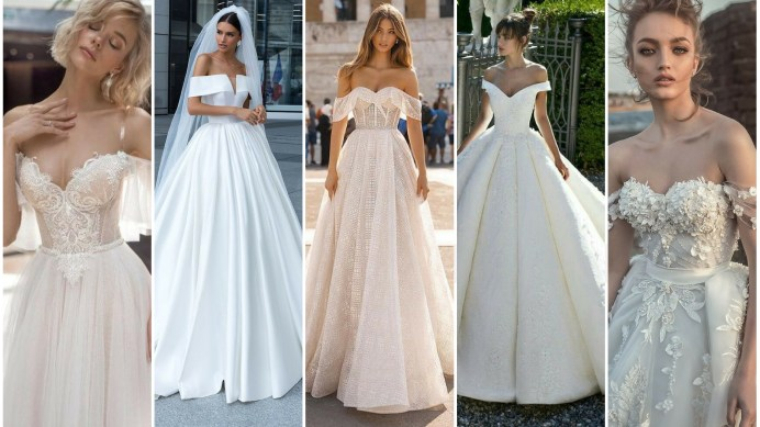 40 Off the Shoulder Wedding Dresses Ideas 1 1