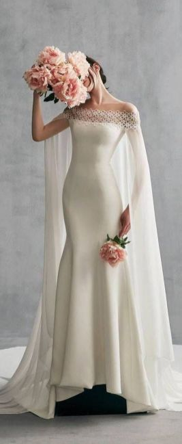 40 Off the Shoulder Wedding Dresses Ideas 15