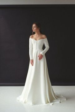 40 Off the Shoulder Wedding Dresses Ideas 2