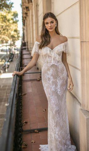 40 Off the Shoulder Wedding Dresses Ideas 21