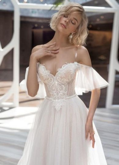 40 Off the Shoulder Wedding Dresses Ideas 3