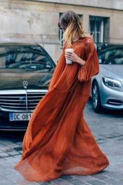 40 Stylish Orange Outfits Ideas 1