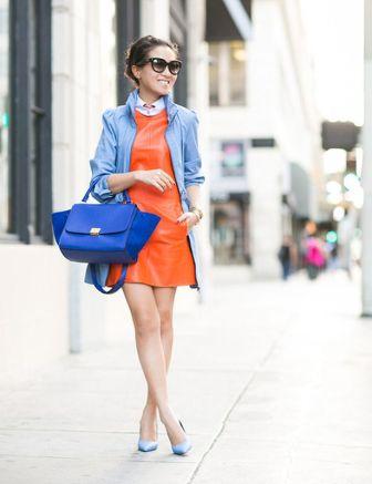 40 Stylish Orange Outfits Ideas 32