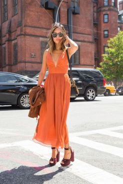 40 Stylish Orange Outfits Ideas 4