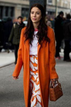 40 Stylish Orange Outfits Ideas 40