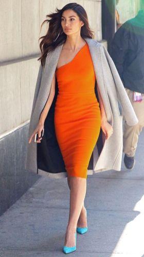 40 Stylish Orange Outfits Ideas 7