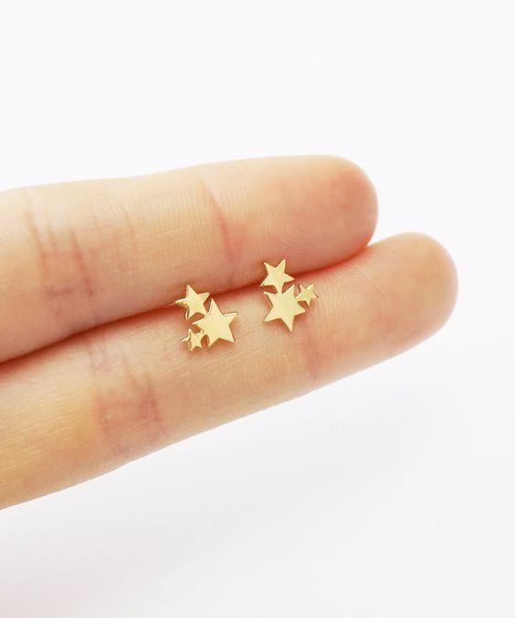 40 Tiny Lovely Stud Earrings Ideas 14