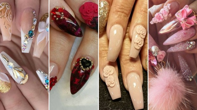 40 Unique 3D Nails Designs Ideas