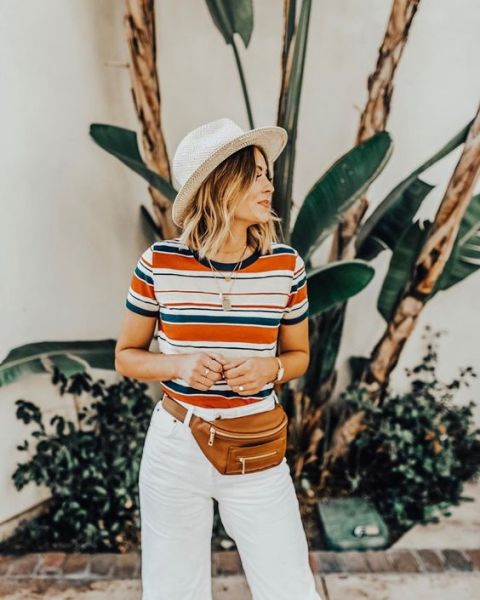 40 Ways to Wear Trendy Fanny Packs for Summer Ideas 27