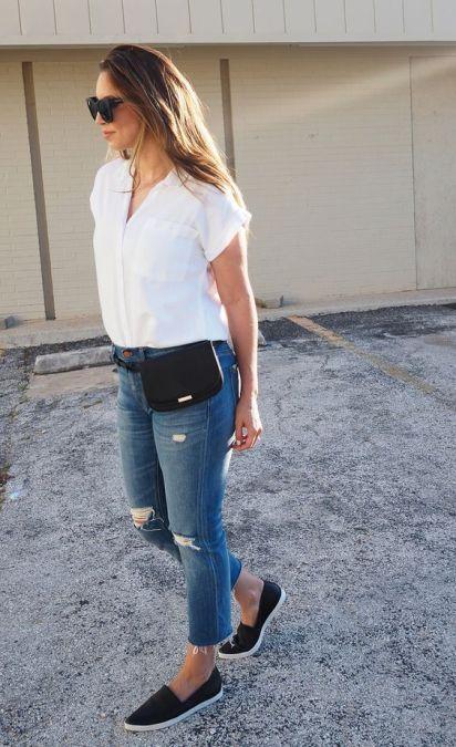 40 Ways to Wear Trendy Fanny Packs for Summer Ideas 35