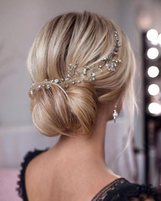 40 Wedding Hairstyles for Blonde Brides Ideas 12