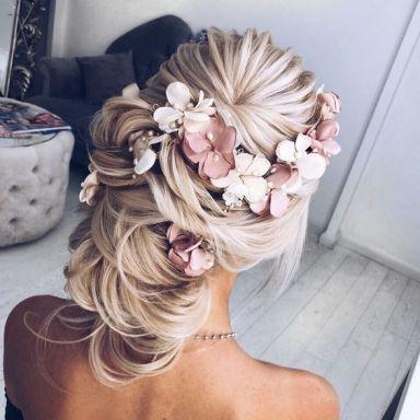 40 Wedding Hairstyles for Blonde Brides Ideas 20