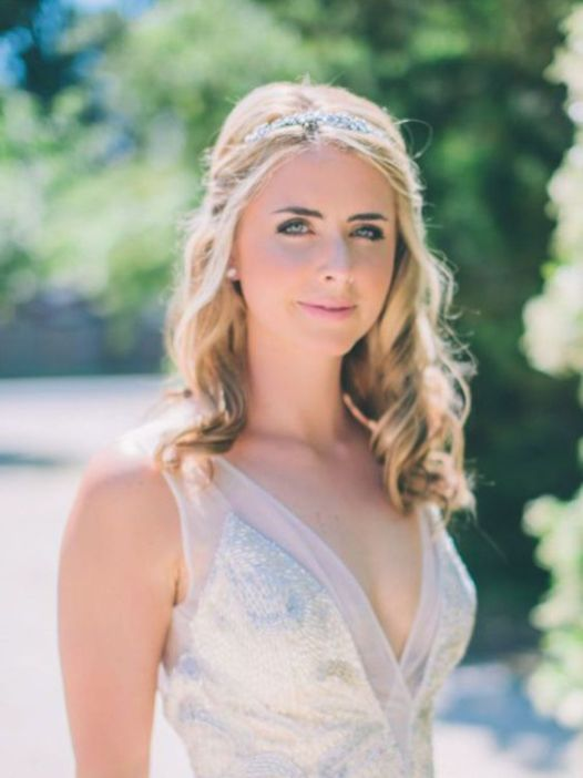 40 Wedding Hairstyles for Blonde Brides Ideas 26