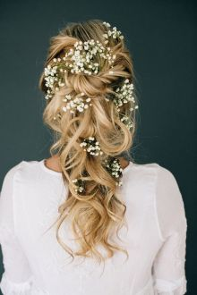40 Wedding Hairstyles for Blonde Brides Ideas 27