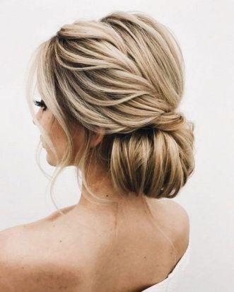 40 Wedding Hairstyles for Blonde Brides Ideas 33