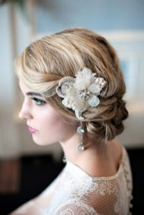 40 Wedding Hairstyles for Blonde Brides Ideas 34