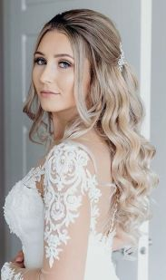 40 Wedding Hairstyles for Blonde Brides Ideas 35