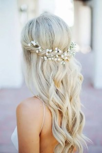40 Wedding Hairstyles for Blonde Brides Ideas 43