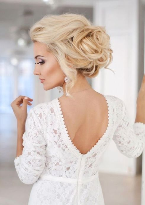 40 Wedding Hairstyles for Blonde Brides Ideas 44