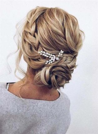 40 Wedding Hairstyles for Blonde Brides Ideas 6