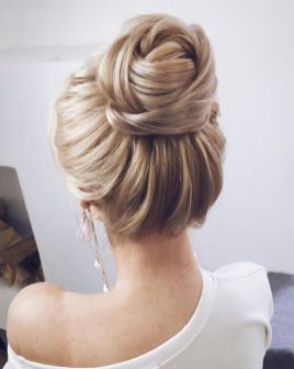 40 Wedding Hairstyles for Blonde Brides Ideas 9