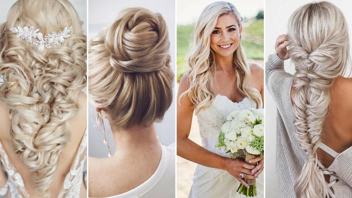 40 Wedding Hairstyles for Blonde Brides Ideas