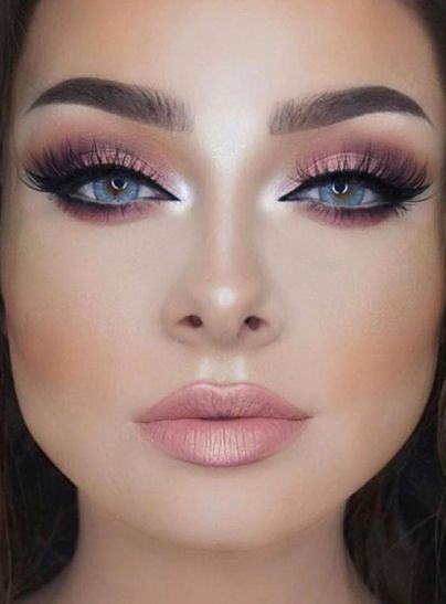 50 Blue Eyes Makeup You Need to Copy Ideas 55