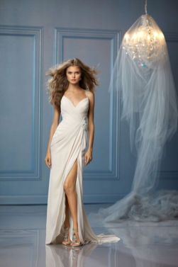 50 Bridal Dresses with Perfect Split Ideas 12 1