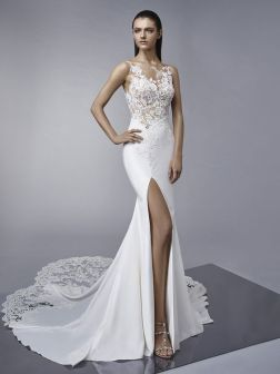 50 Bridal Dresses with Perfect Split Ideas 16 1