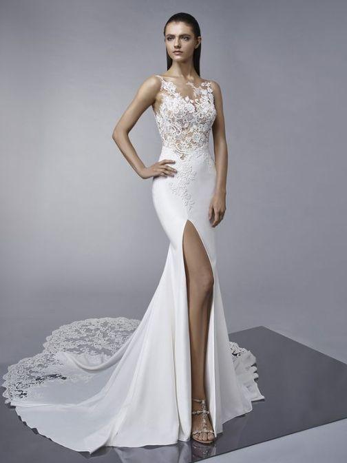 50 Bridal Dresses with Perfect Split Ideas 16 1