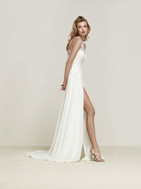 50 Bridal Dresses with Perfect Split Ideas 17 1