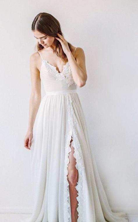 50 Bridal Dresses with Perfect Split Ideas 2 1