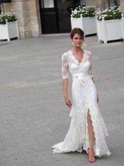 50 Bridal Dresses with Perfect Split Ideas 25 1