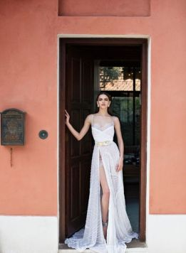 50 Bridal Dresses with Perfect Split Ideas 40 1
