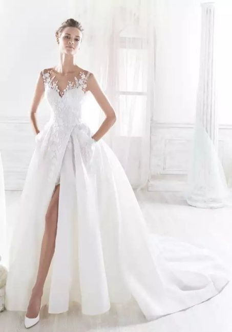 50 Bridal Dresses with Perfect Split Ideas 43 1