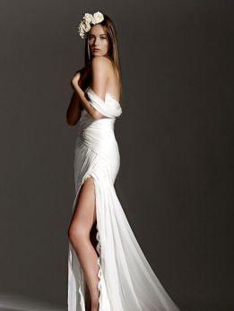 50 Bridal Dresses with Perfect Split Ideas 49
