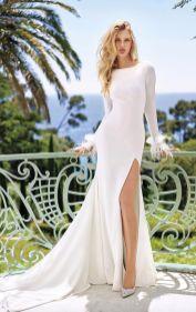 50 Bridal Dresses with Perfect Split Ideas 5 1