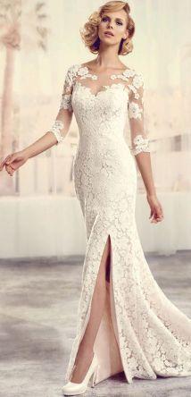 50 Bridal Dresses with Perfect Split Ideas 52 1