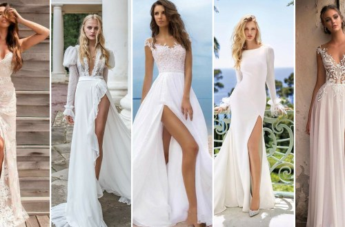 50 Bridal Dresses with Perfect Split Ideas