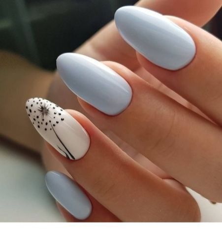 50 Floral Nail Art for Summer and Spring Ideas 33