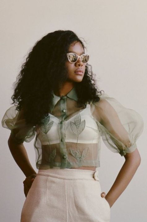 50 Organza Outfits You Should to Try Ideas 25