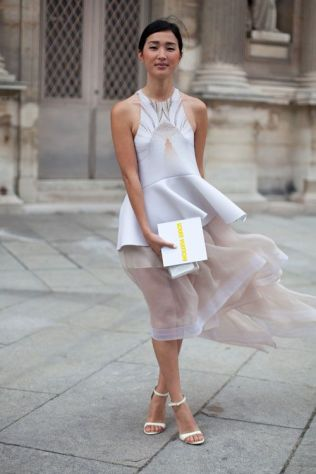 50 Organza Outfits You Should to Try Ideas 5