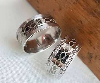 50 Simple Wedding Rings Design Ideas 21