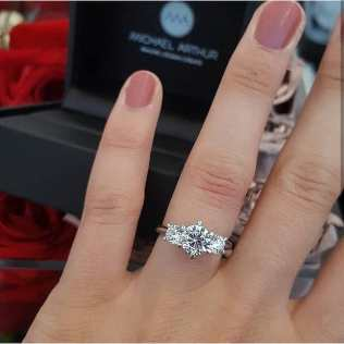 50 Simple Wedding Rings Design Ideas 31