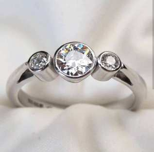 50 Simple Wedding Rings Design Ideas 32